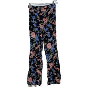Divided H&M Floral Pants Sz 4
